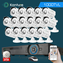 16Channel AHD HDMI 1080P dvr system HD 16pc CMOS 1000TVL outdoor security Surveillance camera kit 16ch 1080P NVR USB 3G WIFi dvr(China)