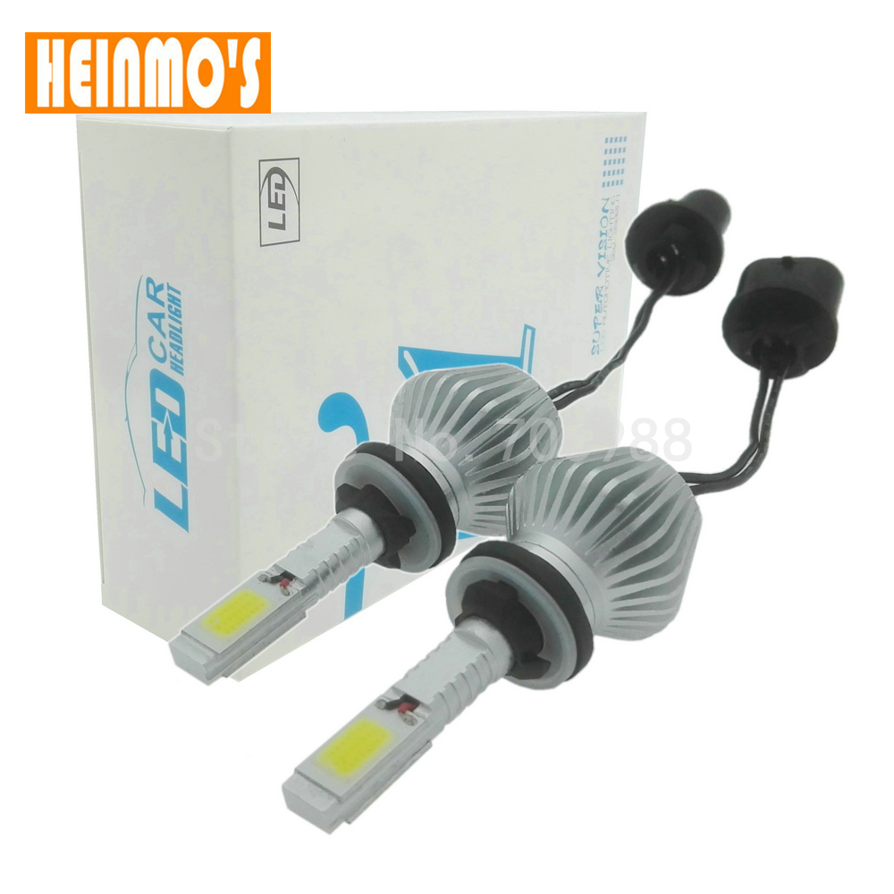 Car styling LED headlight bulb kit H27 880 COB Auto Headlamp H8 H9 H11 H7 9005 HB3 9006 HB4 H3 H1 Front Fog Lamp 6000K White  -  HM Racing Store store