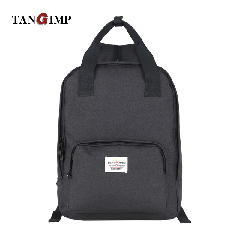 TANGIMP Oxford Student Backpack Solid Preppy Style Backpacks Woman Man For The Traveling Softback Large Capacity Backpack Kids<br><br>Aliexpress