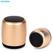 KEYSION Mini Portable Rechargeable Wireless Bluetooth Speaker Stereo SoundBox loudspeaker with Selfie Remote Shutter Control(China)