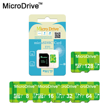 Microdrive Original Green Micro SD Card 64GB 32GB 16GB 8GB Class10 High Speed Memory Card SDXC SDHC 4GB Memoria Carte SD Tarjeta