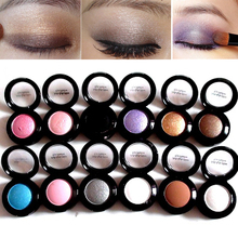 Cheap Makeup Palette 14 Colors Waterproof Long Lasting Shinee Eye Pigments Glitter Shimmer Eyeshadow Palette Mineral Makeup(China)