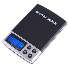 500g x 0.1g Digital Scale Mini balance Portable electric jewelry joyeria scale LCD Digital Weighting weights luggage scale(China)
