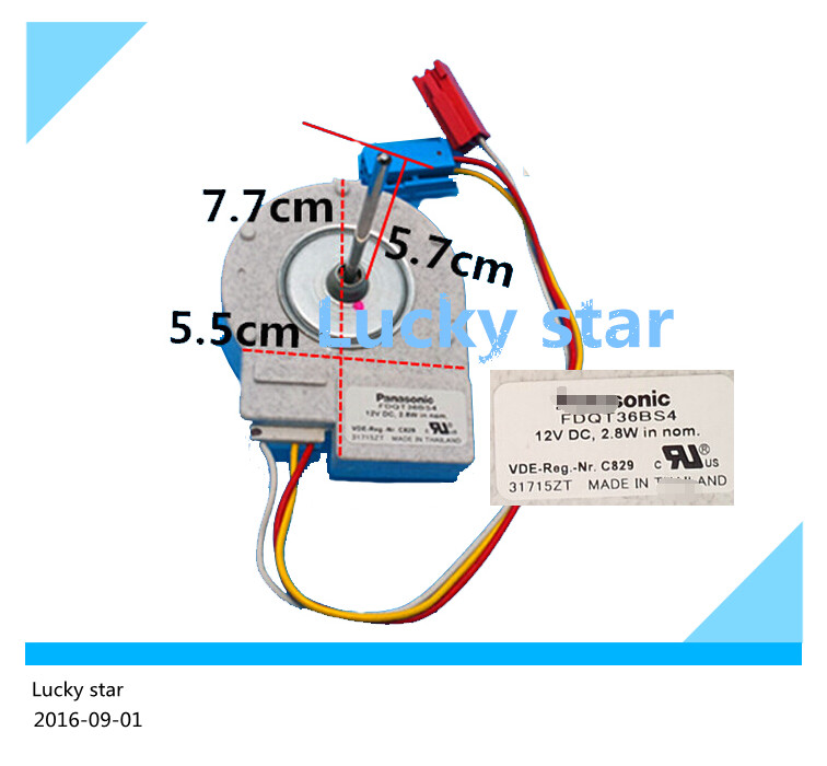 100% new for good working High-quality for refrigerator KA82NV06TI KA62NV001TI CL Fan Motor<br>