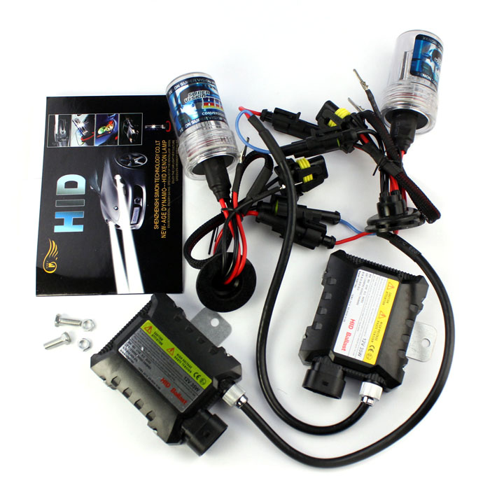 AUTO Headlight 12V 35W Slim H11 4300K Xenon HID Bulb + Ballast Conversion Set Kit car-styling car light auto car styling feb16<br><br>Aliexpress