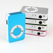 New fashion Mini MP3 Player Support 32GB Micro SD/TF Card Metal Music Player Media Player free delivery