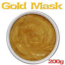 24k Gold Facial Mask Ageless Whitening Moisturizing Anti-wrinkle Mask 200g Beauty Salon Products