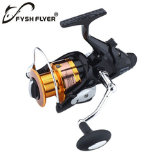 Hot Sale Carp Spinning Fishing Reel Front and Rear Drag System  Infinite  Metal Spinning Reel 9+1BB, Gift One spare spool