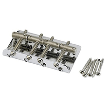 HOT-Vintage Bass Bridge Assembly for Vintage Jazz Bass and Precision Bass For Electric Bass Guitar(China)