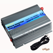 600W Grid Tie Inverter DC11V-32V to AC110V(90-140VAC) Pure Sine Wave Power Inverter Use For 18V/36cells Solar Send from CN/US(China)