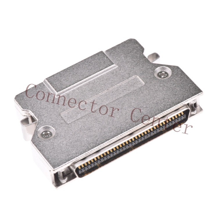 SCSI HPCN CN Type Connector metal Hond 1.27mm 68Pin male Witch Spring Latch<br><br>Aliexpress