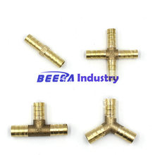 two way, Tee type, Y type, cross type brass fitting, for air/gas, plastic pipes fitting