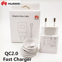 Original Huawei Fast Charger &huawei P9 Plus P8 lite Honor 8 MATE 8 Mobile Phone QC 2.0 QUICK CHARGE usb wall adapter &USB CABLE