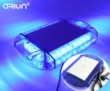 CIRION Hot Sale Magnetic Car Truck 24 Led emergency light Mini Strobe Beacon Warning Lights Ambulance Blue Lightbar Lamp 12V/24V(China)
