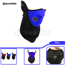 NEW Windproof Outdoor Sport Cycling Sport Bike Motorcycle Skiing Snowboard Neck Skull Breathable Masks Winter Ski Warm Face Mask(China)