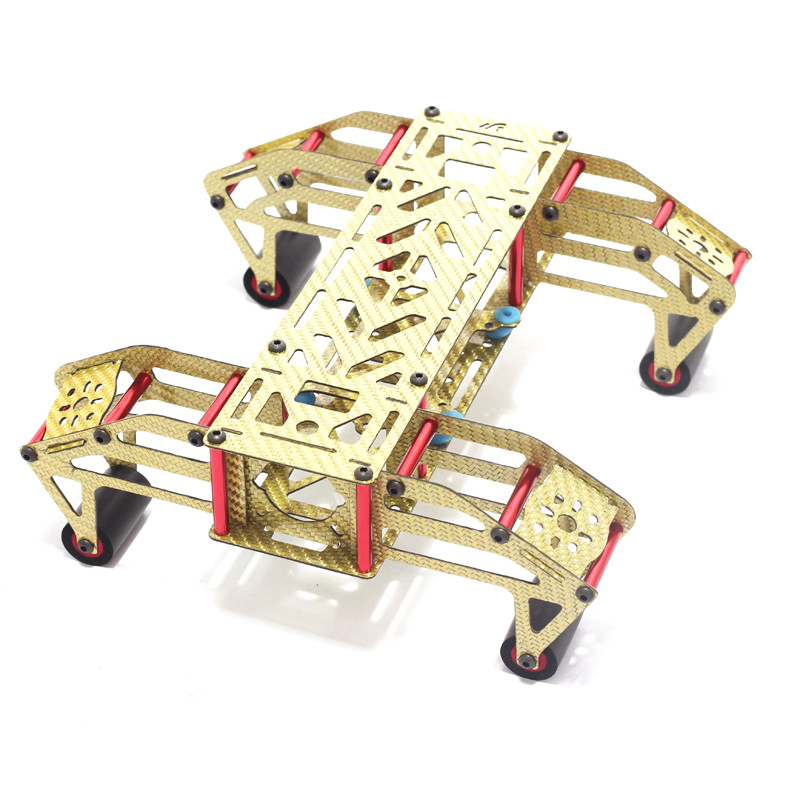 FPV M250 GOLD Carbon Fiber Arms Golden 4 Axis Quadcopter Frame Kit 250mm Wheelbase Carbon Fiber PK QAV250 DIY Drone Multicopter<br>