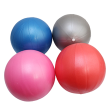 25cm Inflatable Yoga Ball Exercise Fitness Pilates Ball Balance Exercise Gym Pump Yoga Balance Ball Training Yoga Ballon(China)