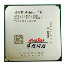 Buy AMD AMD Athlon II X2 260 3.2 GHz Dual-Core CPU Processor ADX260OCK23GM Socket AM3 for $6.59 in AliExpress store
