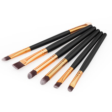 Professional 6 Pcs Makeup Cosmetics Brushes Eye Shadows Eyeliner Brush Tool Set Kit For Women Lady Makeup Tool H7JP(China)