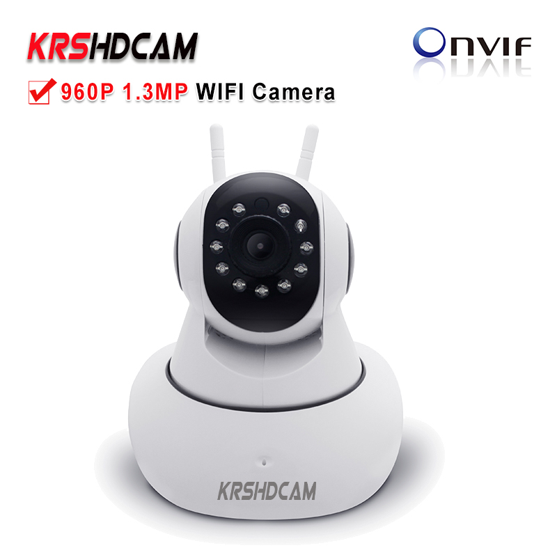 KRSHDCAM 960P WIFI Camera Wireless Security CCTV IR-Cut Night Vision Audio Recording Surveillance Network Indoor Baby Monitor<br>