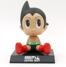 Candice guo plastic toy garage kit doll japanese cartoon Astro Boy robot funny anime model children birthday christmas gift 1pc