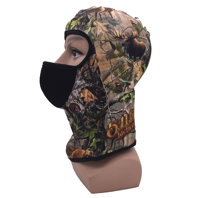 100/% Australia Merino Wool Full Face Mask Headwear Balaclava Hunting Hats