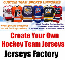 Create Your Team - Custom ICE Hockey Jerseys Replica Home Away Mens Woman Kid Youth Vintage Jersey USA CANADA Australia