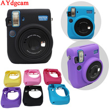 New Camera Video case Bag PVC silicone case Camera bag for Fuji Fujifilm Instax Mini 70 Mini-70 Protect bag cover