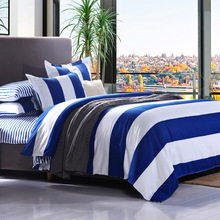 wholesale king queen twin kind Bedding Set Cotton comfortab luxury duvet cover+Flat bed sheet+Pillowcase Home -tages decke
