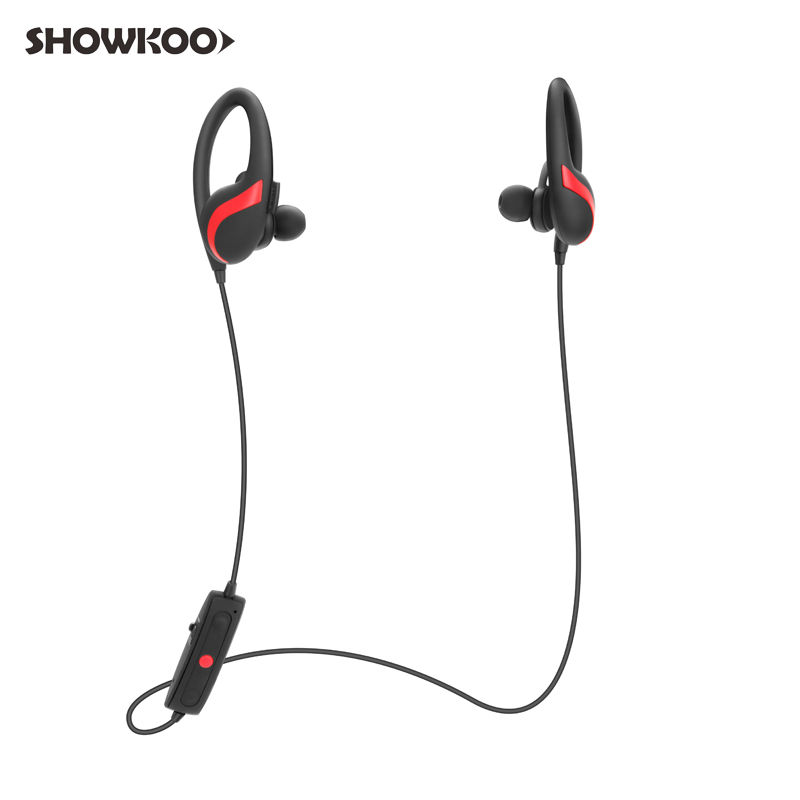 Showkoo Earphone CSR Neckband Bluetooth Headphone Auriculares Noise Canceling Headphone Bass Headset Fone De Ouvido Ecouteur