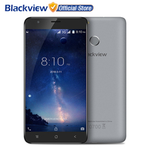 Blackview E7S Mobile Phone 5.5 inch IPS HD MTK6580A Quad Core Android 6.0 2GB RAM 16GB ROM 8MP CAM 3G Fingerprint ID Smartphone