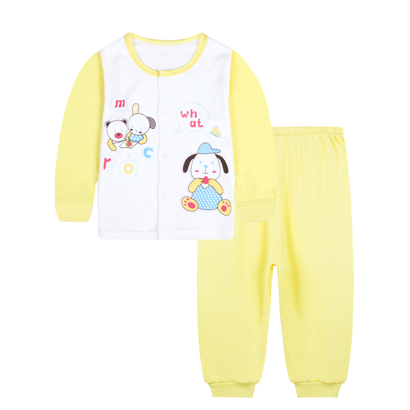 Spring Autumn pullover Cartoon Babys Sets 2017 cotton Boys girls baby Clothes 101234-101237<br>