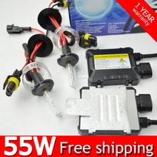 Buy 1 set xenon hid conversion kit 55W H1 H3 H7 H8 H10 H11 H9 H11 H13 9005 9006 9007 lamp silm ballast blocks car headlight for $18.80 in AliExpress store