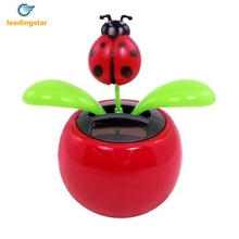 LeadingStar Hot Selling Solar Powered Dancing Flower Frog Great as Gift or Decoration Children Solar Toy Gadget Furnishing