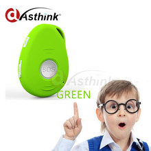 Portable ET017S Real-Time GPS Tracker for Kids Child Elderly Personal Mini & SOS Communicator GSM / GPRS / GPS Tracking Device(China)