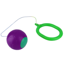6 Colors Skip Ball Outdoor Fun Toy Balls Classical Skipping Toy Fitness Equipment Toy(China)
