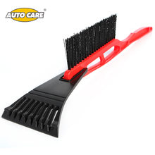 1pcs 2 in 1 Ice Remove Tool Car Winter Ice Scraper Snow Brush Auto Truck Window Retractable Snow Shovel Removal Brush Shovels(China)