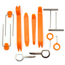 Refitting Plastic 12Pcs/Set Automobile Car Panel Removal Tools Ford Focus 2 3 Installer Pry Repair Sets Dash Audio Stereo GPS