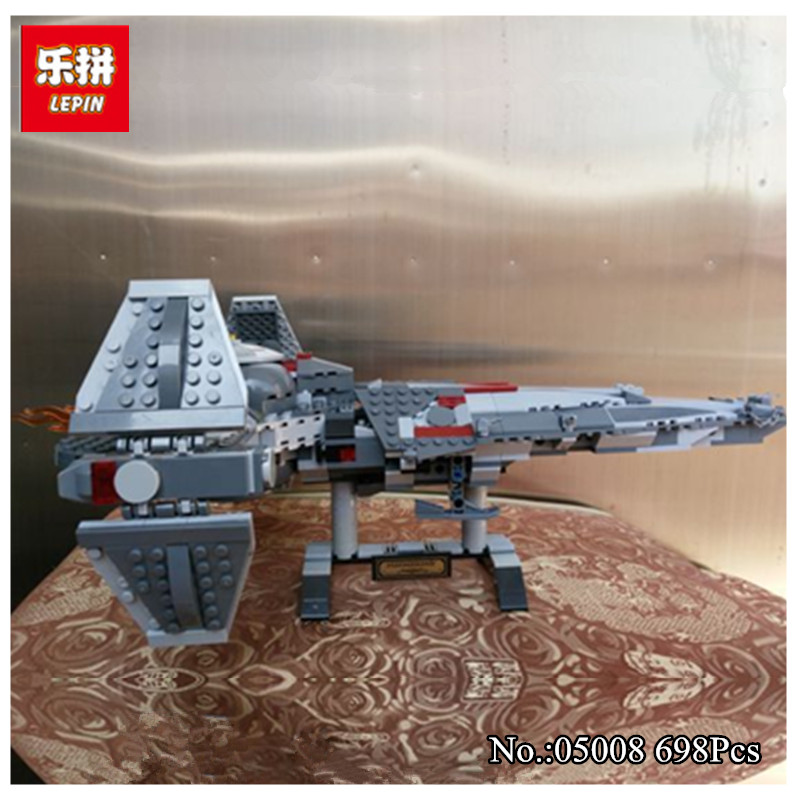 New 698pcs LEPIN 05008  Sith Infiltrator Figure Marvel  Building Blocks Set Toys Compatible With 7961<br>