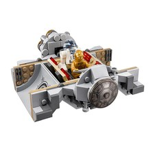STAR WARS Droid Escape Pod C-3PO R2-D2 Jawa The Force Awaken 219pcs Building Bricks Block Set Lepin 75136