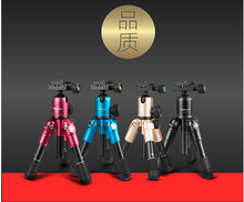 W823 Mini tripod portable camera single mobile phone tripode light mount accessories