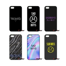 For iPod Touch iPhone 4 4S 5 5S 5C SE 6 6S 7 Plus Samung Galaxy A3 A5 J3 J5 J7 2016 2017 Funny Face Sadboys Baseball Logo Case(China)