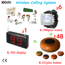 Remote Call Bell , Electronic Ordering System , Wireless Service Waiter