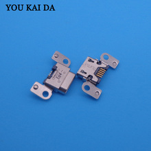 2pcs/lot micro Charging Port usb jack socket connector dock plug replacement 5pin Repair Parts for Amazon Kindle Fire HD 7 3rd(China)