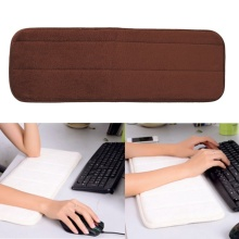 Soft Computer Wrist Pad Mats Rest Support Memory Comfort Keyboard Hand Pad Mousepad Cushion For Raised Platform Hands