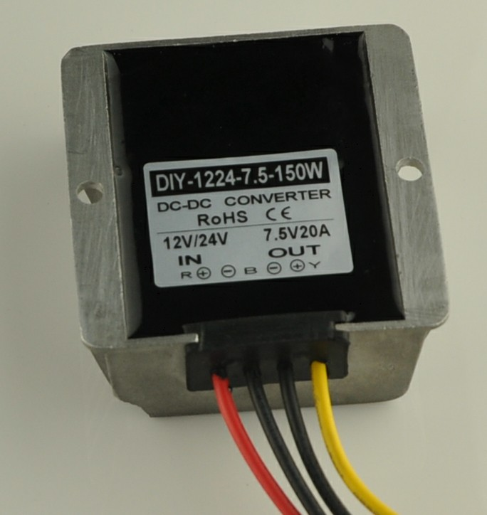 12V24V(11V-40V) Step Down 7.5V 20A 150W DC-DC Converter Buck Module Car Power Converter Adapter Voltage Regulator Waterproof<br><br>Aliexpress
