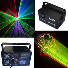 3w Full Color Laser Light / 3D Animation Laser Light / dmx control pattern light disco lights dj equipment(China)