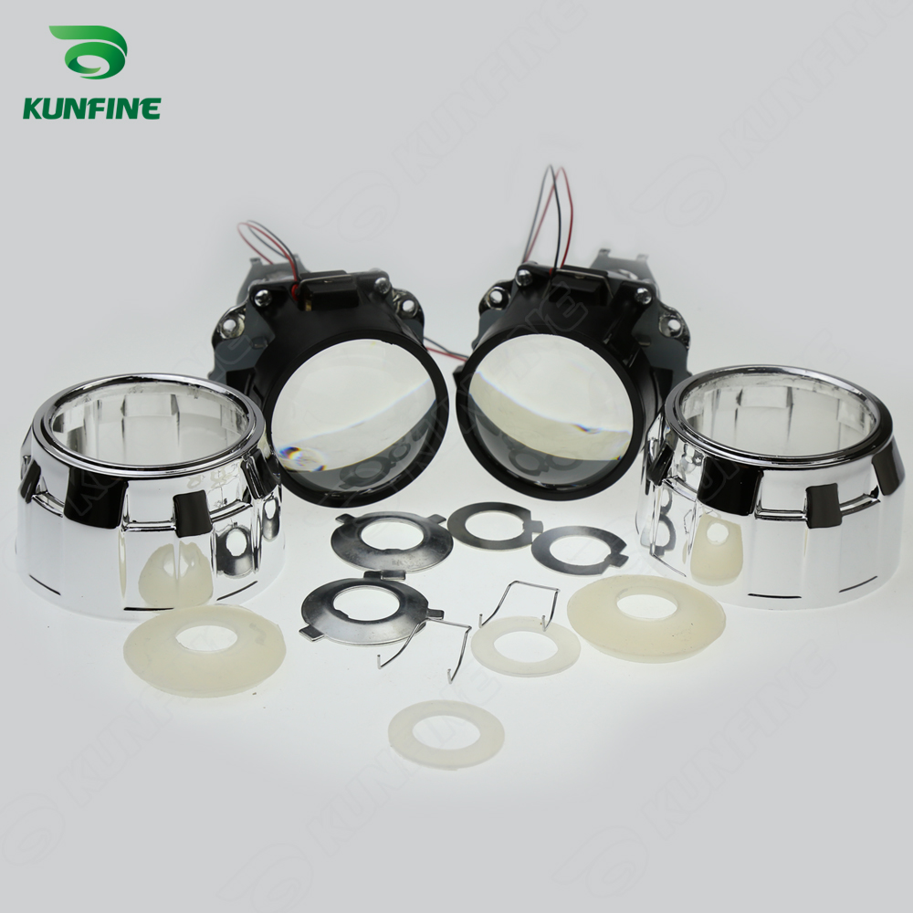 Wholesale price 2.5 inch Bi-Xenon HID Projector Lens car high/low beam for car headlight halogen or xenon bulb<br>