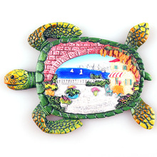 YC101701F   magnetic  fridge magnet  Chinese supplier new design turtle design