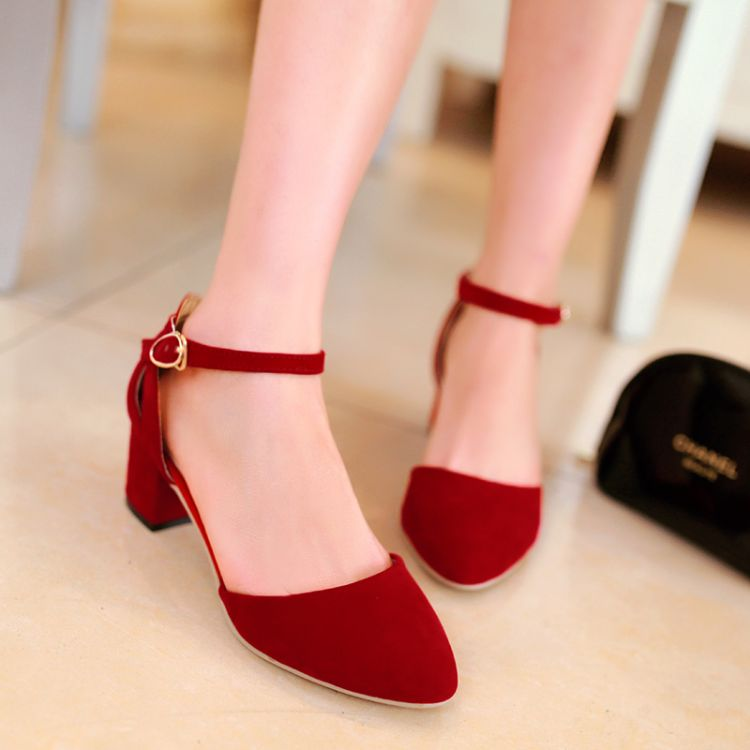 2015 thick heel shoes small yards womens fashion summer 31-33 plus size with the sandals 40 - 43<br><br>Aliexpress
